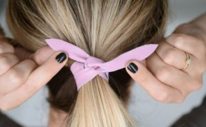 Hair tie up